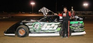 Crate Late Model Feature Winner